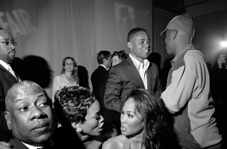 C. B Vance, A. L. Talley, A. Bassett, K. L. Simmons, C. Gooding Jr., R. Simmons, Los Angeles, 2002, photo credit Larry Fink