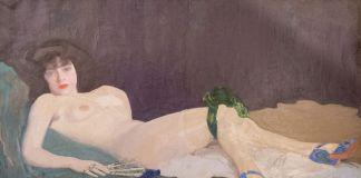Camillo Innocenti, Lisetta, olio su tela, 1915, Roma, collezione privata