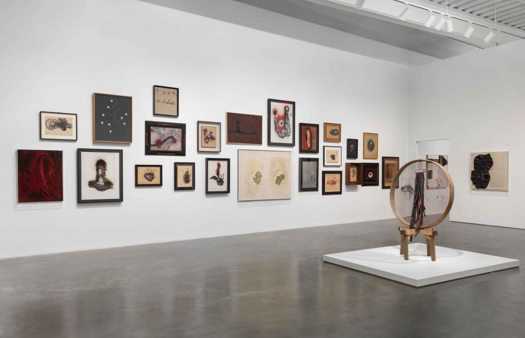 Carol Rama. Antibodies. Exhibition view at New Museum, New York 2017