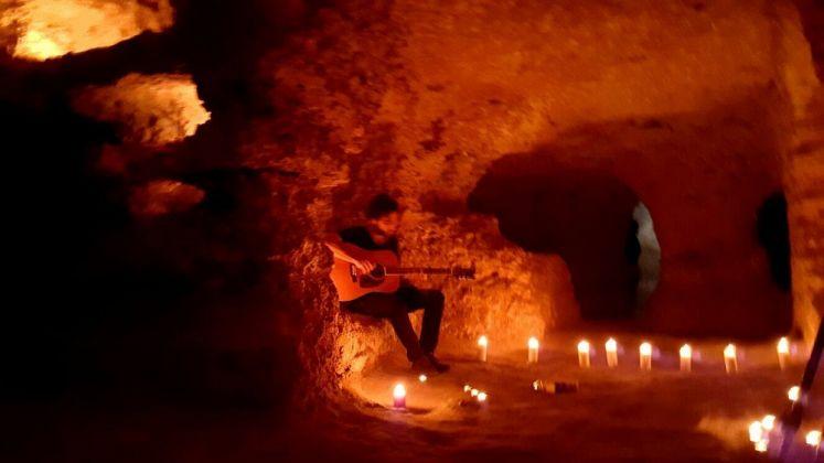 Catacomba di Porta d'Ossuna, Palermo. Live di Fabrizio Cammarata