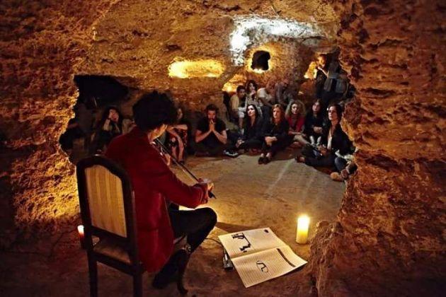 Catacomba di Porta d'Ossuna. Live di Alessandro Librio