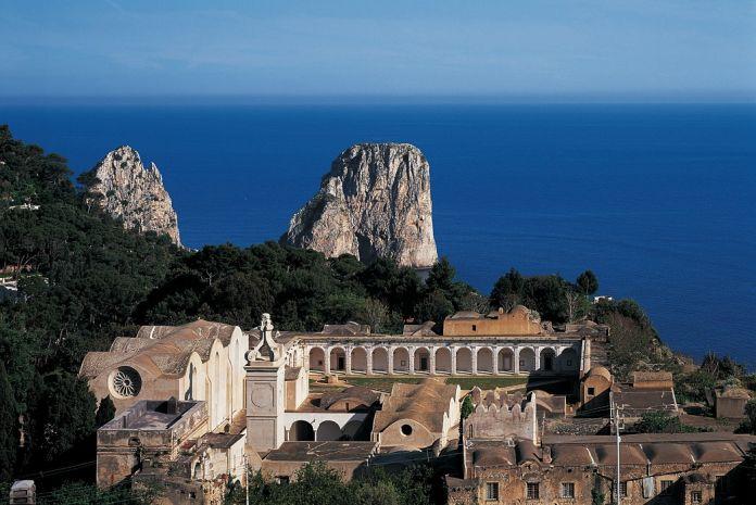 Certosa di San Giacomo, sede del Festival della Fotografia di Capri