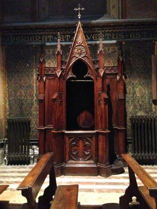 Chiesa del Sacro Cuore del Supplizio in Roma (confessionale)