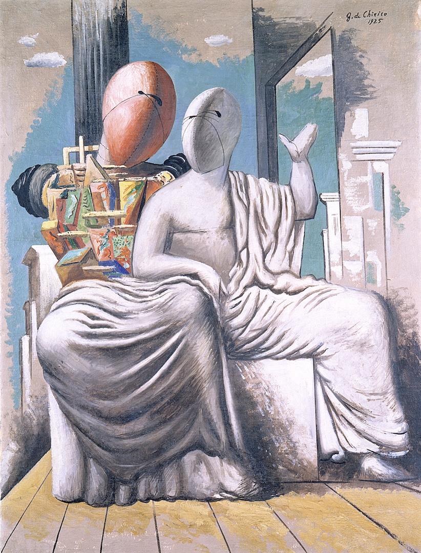Giorgio de Chirico, Les philosophes grecs, 1925