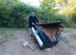 Alvin Curran, Pian de pian piano. Ph. Gino Di Paolo