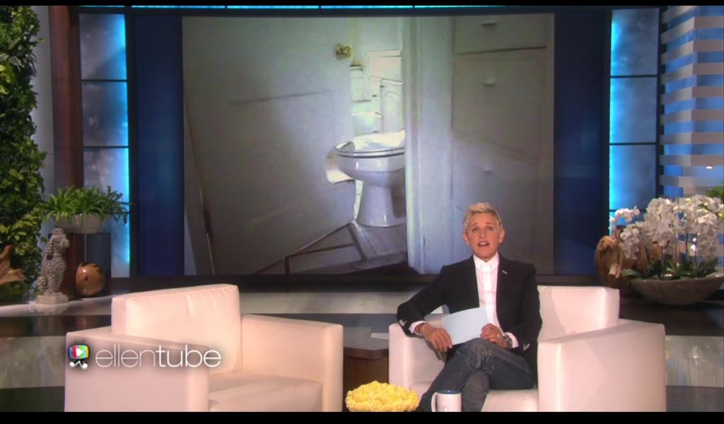 Dalla puntata Don't Do It Yourself del The Ellen DeGeneres Show