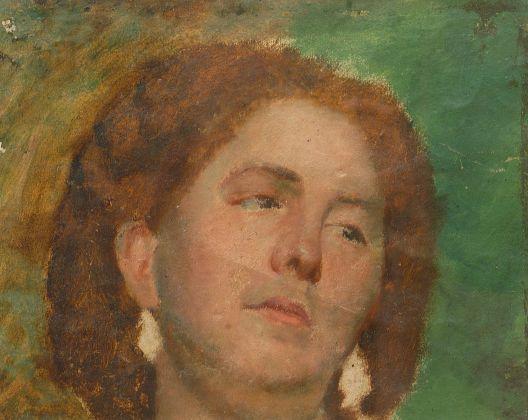 Daniele Ranzoni, Testa di donna, 1862-64