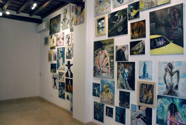 Dario Carratta. Sniff my leather jacket. Galleria Richter Fine Art, Roma 2017