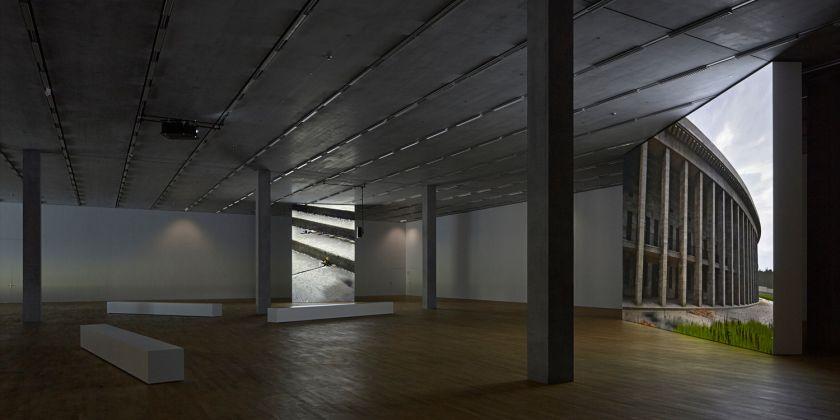 David Claerbout, Olympia, 2016. Installation view at Schaulager, Münchenstein 2017