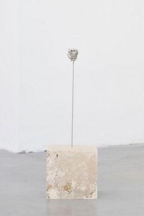 David Prytz, Mond allein, 2017, mixed media, 61 x 20 x 18 cm, photo Roberto Apa, courtesy of the artist and Galleria Mario Iannelli