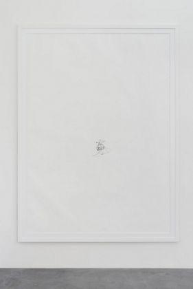 David Prytz, Untitled, 2017, inchiostro su carta, 204 x 146 cm, photo Roberto Apa, courtesy of the artist and Galleria Mario Iannelli