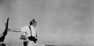 Robert Capa, SPAIN. Córdoba front. Early September, 1936. Death of a loyalist militiaman.