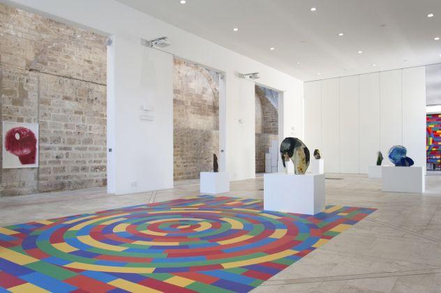 Diego Perrone. Sussi e Biribissi. Exhibition view at Spazio Murat, Bari 2017