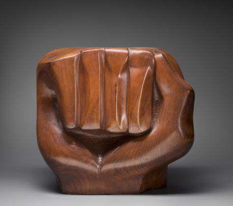 Elizabeth Catlett Sculpture Black Unity, 1968