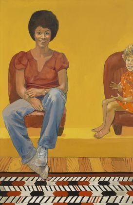 Emma Amos Eva the Babysitter, 1973
