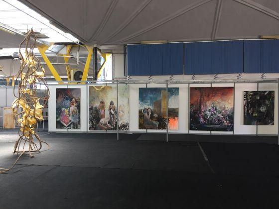 Expoziţia Absolvenţilor, 2017, exhibition view at Expo Transilvania, Cluj-Napoca