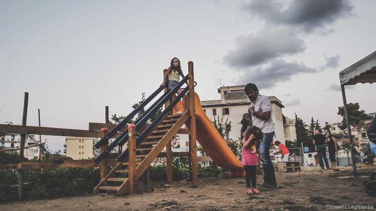 Famiglie nell'orto, fattoria del Parco Santa Agnese ai Danisinni - photo Rossella Puccio