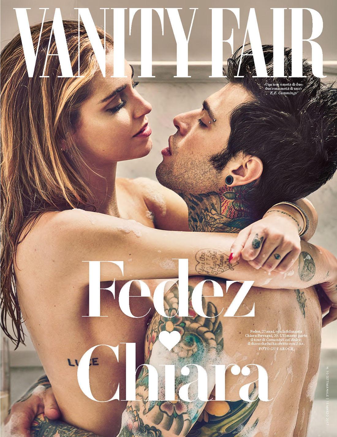 Fedez e Chiara Ferragni sulla copertina di Vanity Fair
