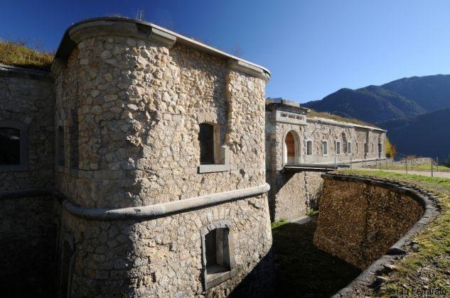 Forte Monte Ricco a Pieve di Cadore