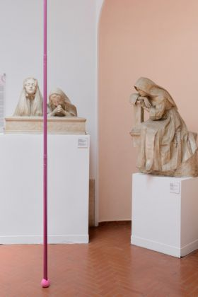 Fortezzuola, exhibition view at Museo Pietro Canonica, Roma 2017