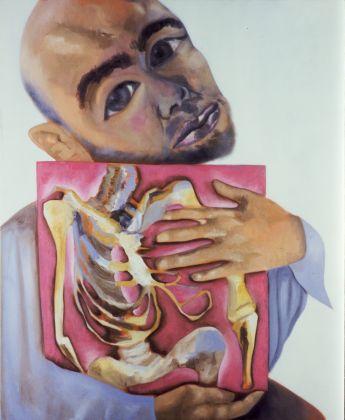 Francesco Clemente, Self Portrait, 2005, olio su tela, The MET collection, New York