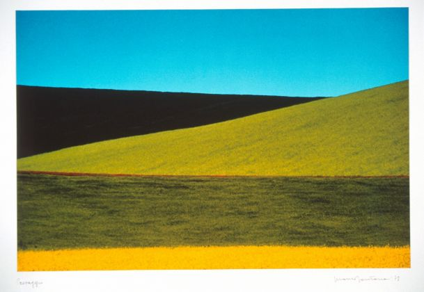 Franco Fontana (Modena, 1933), Paesaggio, Basilicata, 1978, Fotografia a colori su carta Cibachrome, UniCredit Art Collection