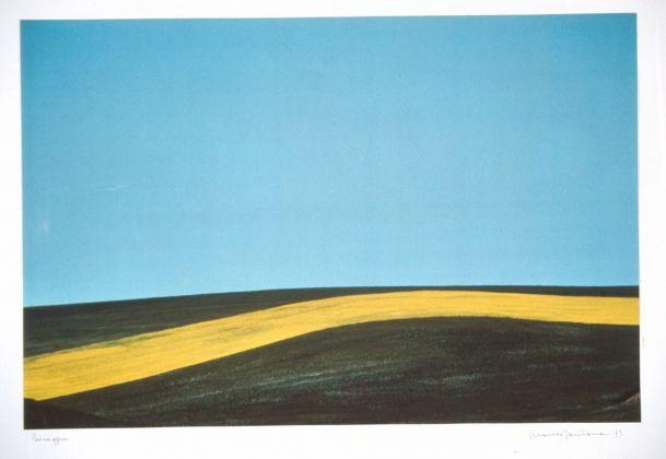 Franco Fontana (Modena, 1933), Paesaggio, Basilicata, Italy 1975, Fotografia a colori su carta Cibachrome, cm 57.5 x 87.5, UniCredit Art Collection