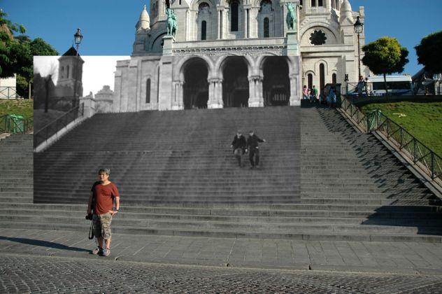 Gea Casolaro, Still here, Le quatre cents coupes, Escalier du Sacré Coeur