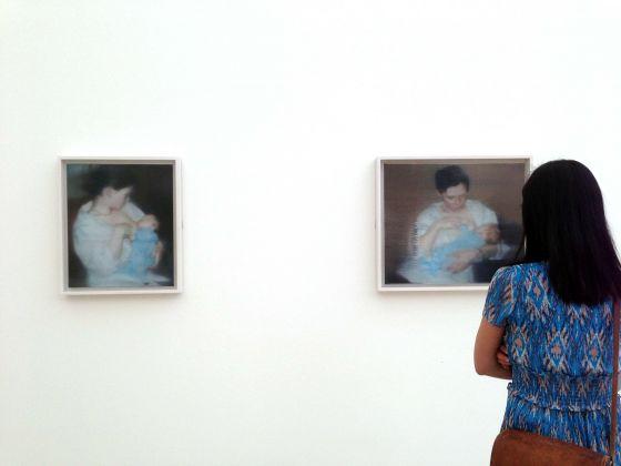 Gerhard Richter, una sala della retrospettiva alla Fondation Beyeler, 18 maggio 7 settembre 2014, photo Luca Fiore, courtesy postmediabooks