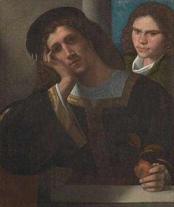 Giorgio da Castelfranco detto Giorgione, Due amici, 1502 ca. Roma, Museo di Palazzo Venezia