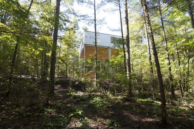 Go Hasegawa & Associates, Pilotis in a Forest. Photo © Go Hasegawa & Associates