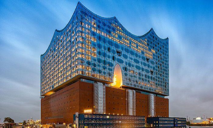 Herzog & de Meuron's Elbphilharmonie concert hall in Hamburg