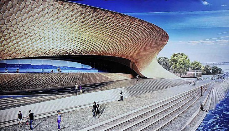Il Maat a Lisbona © Amanda Levete Architects