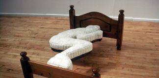 Il letto secondo Dominic Wilcox
