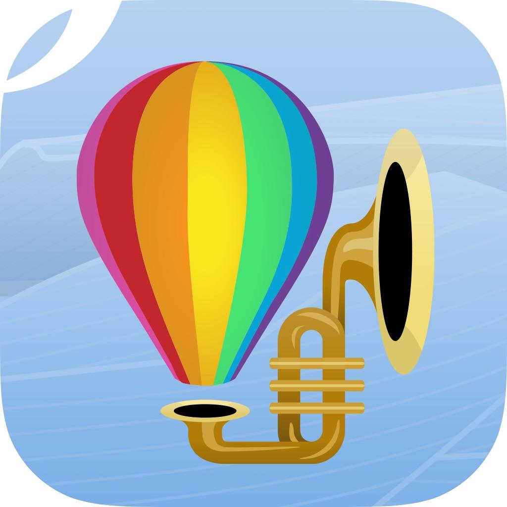 Il logo della app Lucky Vibes