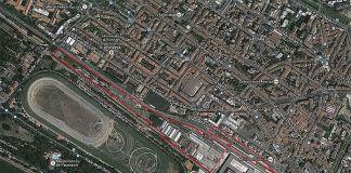 Il perimetro delle ex OGR in una foto aerea - Fonte sito FSSU