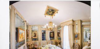 Interno della villa di Federico Cerruti, Rivoli Torino, Castello di Rivoli Museo d'Arte Contemporanea, Rivoli Torino, Foto Gabriele Gaidano