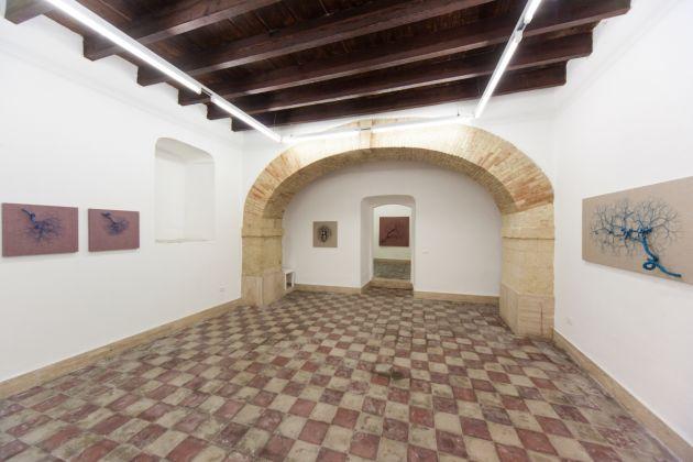 Janaina Mello Landini, Aglomeração, Galleria Macca, Cagliari 2017, photo Cristian Castelnuovo
