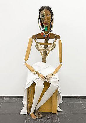 Jimmie Durham - Malinche, 1988 1992. Photograph Dirk Pauwels S.M.A.K
