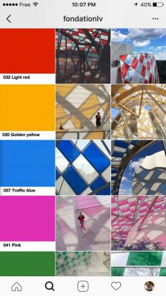 La app della Fondation Louis Vuitton