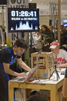 La sfida tra Dominic Wilcox e una stampante 3D