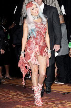 Lady Gaga agli MTV Video Music Awards nel 2010