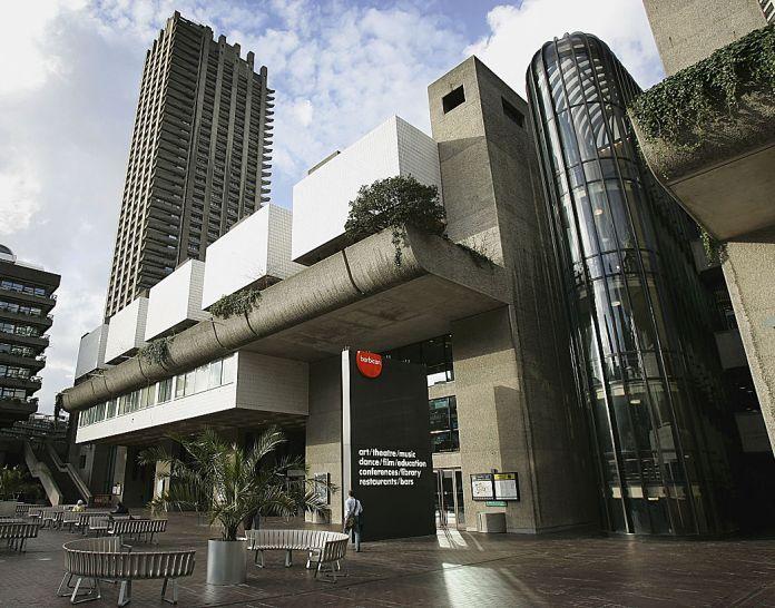 L'attuale Barbican Centre a Londra