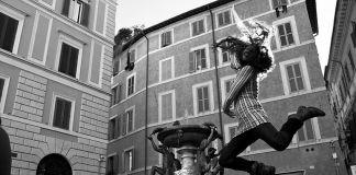 Laura Cionci -Daria Paladino, Fontana delle tartarughe 2014, stampa su carta hahnemuhle 20x30 cm
