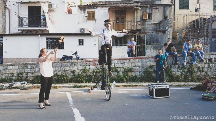 Le acrobazie di Jonathan Marquis, Danisinni, Palermo, photo Rossella Puccio
