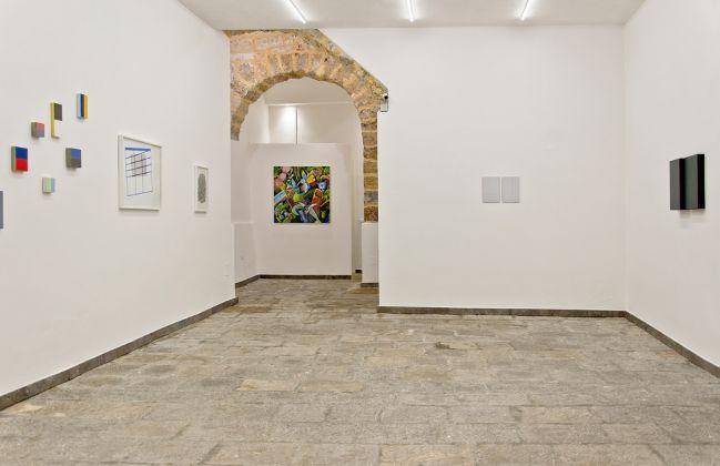 Lucio Pozzi, Single and Plural, exhibition view at Rizzutogallery, Palermo 2017