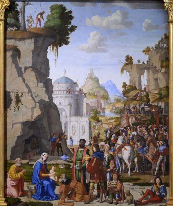 Marcello Fogolino, Adorazione dei Magi, Musei Civici di Vicenza, Palazzo Chiericati