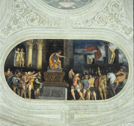 Marcello Fogolino, Affreschi nel Torrione da basso, Castello del Buonconsiglio, Trento