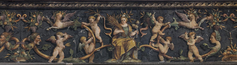 Marcello Fogolino, Fregi in Palazzo Firmian, Trento