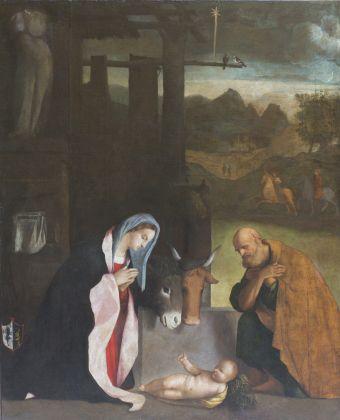 Marcello Fogolino, Natività, Museo di Castelvecchio, Verona